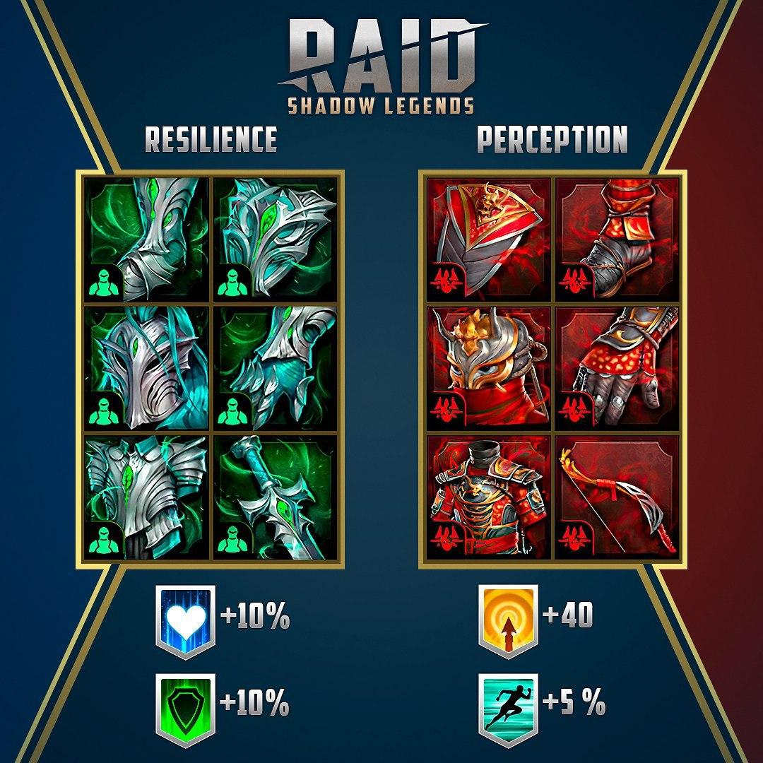 Новые сети артефактов в Raid Shadow Legends 2.20