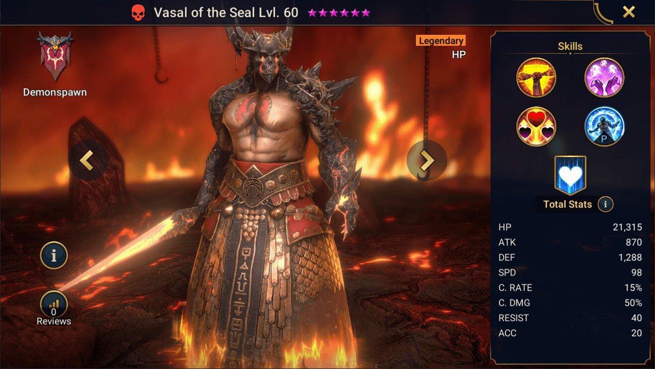 История Васала Лютого Raid Shadow Legends