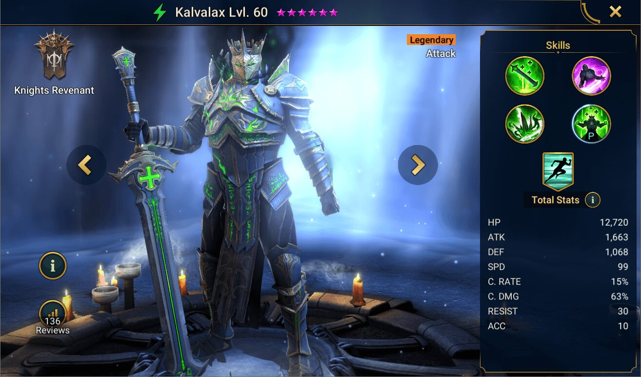 История Кальвакаса Raid Shadow Legends
